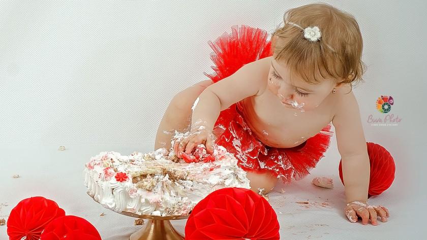 Eva – smash the cake